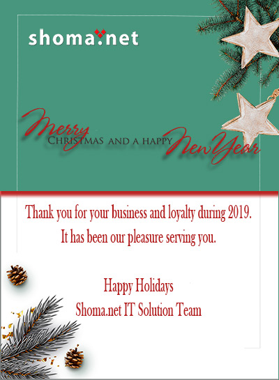 Shoma.net wish you a great year
